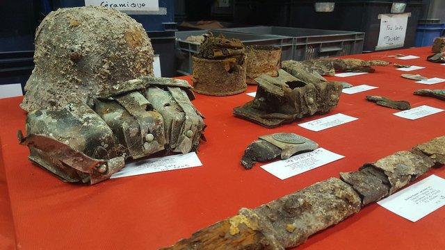 objet grande guerre decouverte archeo boult sur suippe 2